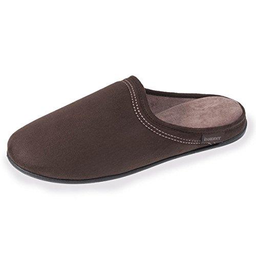 Comodità Muli Pantofole Umani Marrone Isotoner dq8tXwq