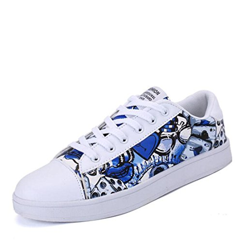 Primavera ed estate traspirante stampato scarpe casual scarpe da uomo moda paio di scarpe paio prynne