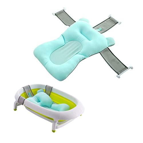 BESTEU Faltbare Baby Badewanne Pad Baby Badewanne Pad Neugeborenen Baby Badewanne Duschkissen Matte Badematte