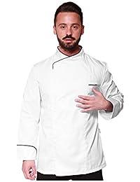 Linea Trendy - Chaqueta UNISEX Cocina Perforada MicroFibra