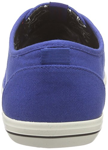 Jack & Jones Jjspider Canvas Sneaker, Baskets Basses Homme Blau (Limoges)