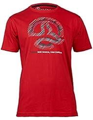 Ternua Severn - Camiseta para hombre, color rojo