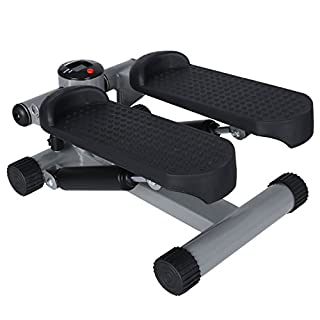 ANCHEER Swing Stepper Including Resistance Exercise Step Machine Up-Down stepper Trainer