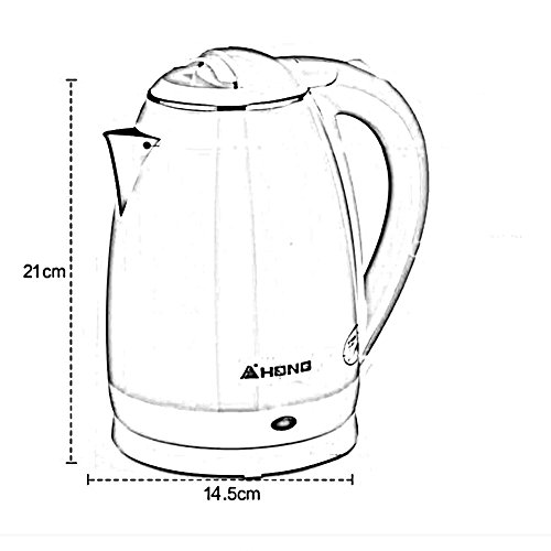 BCQ Electric Kettle 304 Stainless Steel Food Grade Home Automatic Power off Kettle 1.8L 1500W Electric Kettles,1
