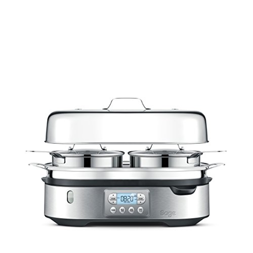 Sage SFS800BSS the Steam Zone Food Steamer with Split Zones – Stainless Steel