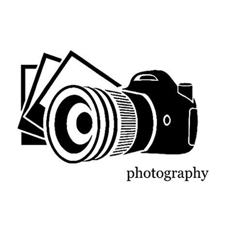Autoaufkleber 14,4 CM * 10,1 CM Mode Fotografie Kamera Foto Aufkleber Vinyl Auto Aufkleber 2 Stück (Foto Kameras,)