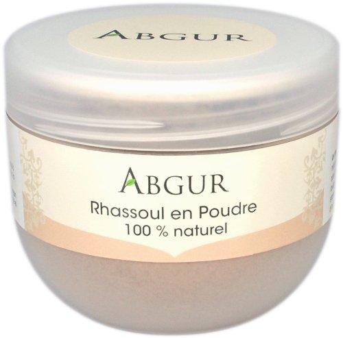 100% Natürliche und Reine Tonerde Heilerde Rhassoul Pulver aus Marokko Für Gesicht Haare und Körper Als Badezusatz Für Männer und...