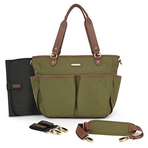 timi & leslie TL51001SO Wickeltasche mit Inhalt, tagalongtote soho grün