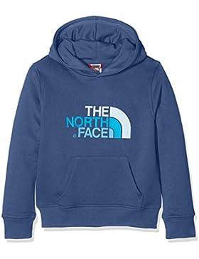 The North Face, felpa T933H4HDC. Felpa con cappuccio unisex per bambini, taglia S, blu scuro