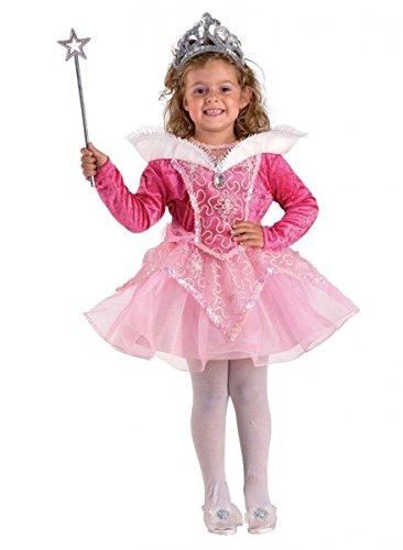 Prinzessinnen Kostüm Kind kurz, Kinderkostüm Prinzessin, Größe:104