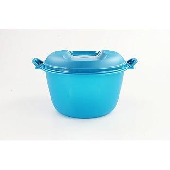 TUPPERWARE Mikrowelle Reis-Meister 3,0 L blau großer