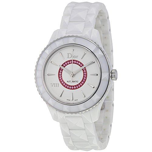 Christian Dior VIII bianco in ceramica CD1245EFC001-Orologio da donna