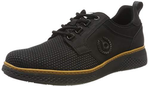 Business Casual Schuhe (bugatti Herren 322763016900 Sneaker Schwarz (Schwarz 1000), 42 EU)