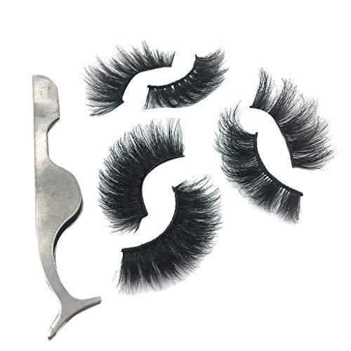 Damen Wimpern Magnet ZYUEER Magnetische Wimpern 3D (Magnetic Lashes) Magnet Wimpern