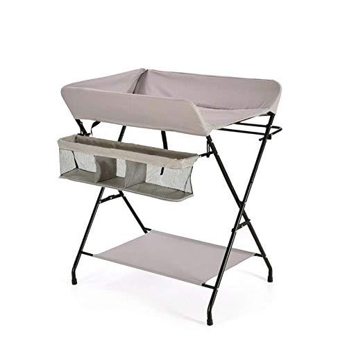 Tables à langer Station de Changement de bébé, Organisateur Pliable portatif de Couche-Culotte pour Nouveau-né Infantile