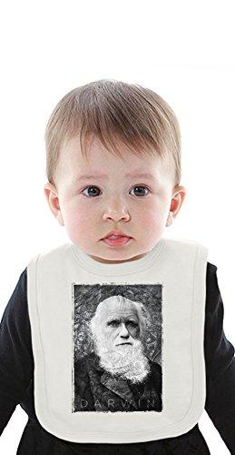 Charles Darwin Organic Bib With Ties Medium