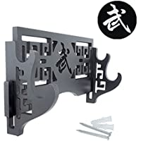 Sword Display Halter Wandhalterung Katana Ständer-Kurzschwert Classic Samurai-Schwerter Rack Standard Schwert Ständer für Wand-Bushido 武