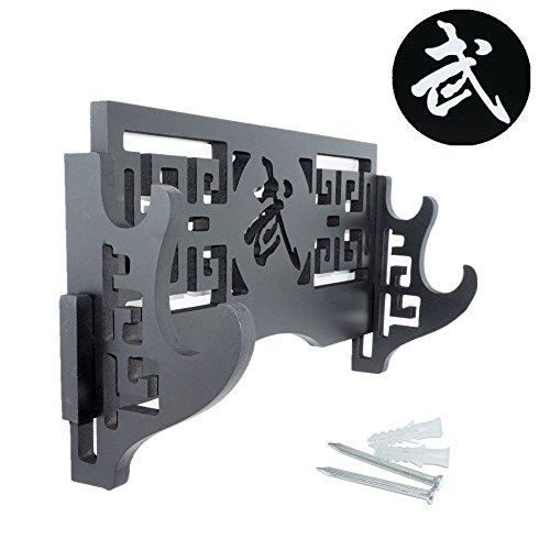 Espada Estándar de soporte-Soporte de pantalla plana Katana Wakizashi espadas samurai de...