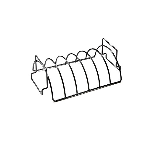 OUTSET 76163 Grillpfanne mit abnehmbarem Griff, antihaftbeschichtet Non-Stick Reversible Roast and Rib Rack