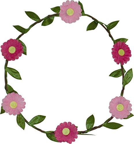 Marguerite Garland Head Wrap pour les mariages, Festivals, Parties (2 Fourni)