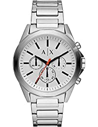Armani Exchange Drexler Analog White Dial Men's Watch-AX2624