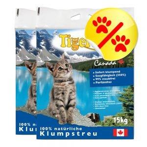 doppelpack-tigerino-canada-katzenstreu-parfumfrei-2-x-15kg