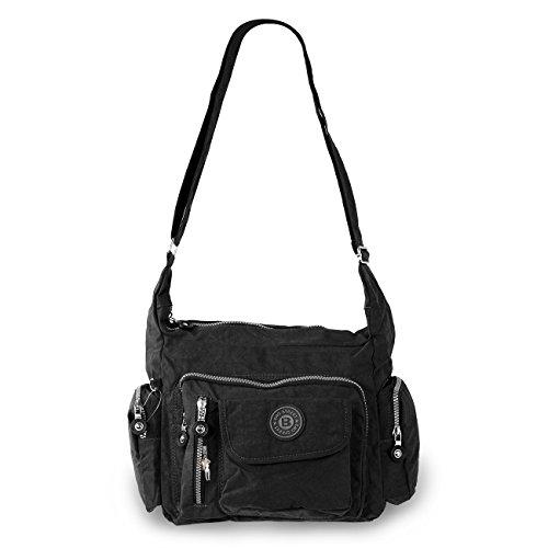 Bag Street tracolla bodybag Nylon Multicolore Size: 30x22x15cm