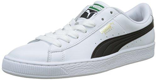 newest f2e07 24dd8 Puma Basket Classic LFS, Zapatillas Unisex Adultos, Blanco (White-Black),
