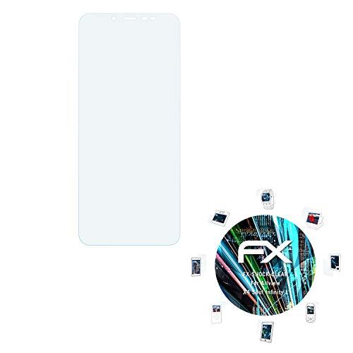 atFolix Schutzfolie kompatibel mit Allview X4 Soul Infinity L Panzerfolie, ultraklare & stoßdämpfende FX Folie (3X)