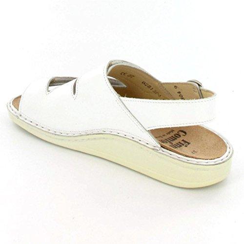 Finn Comfort Sandale Sylt weiß/Nappa-37 Blanc - Blanc