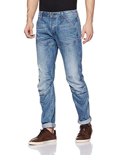 G-STAR RAW Herren 5620 3D Jeans, Blau (Medium Aged), 28/32 -