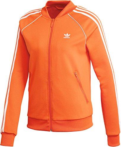 adidas sst jacke orange damen