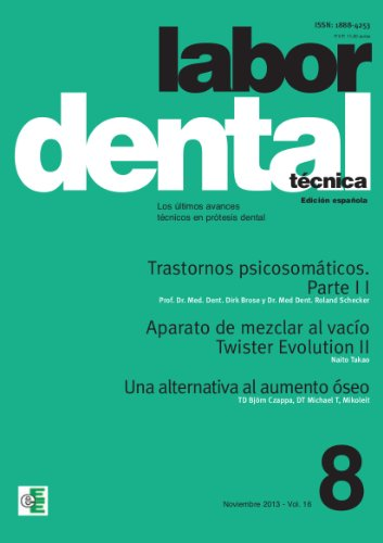 Labor Dental Técnica 8-2013 por VARIOS AUTORES