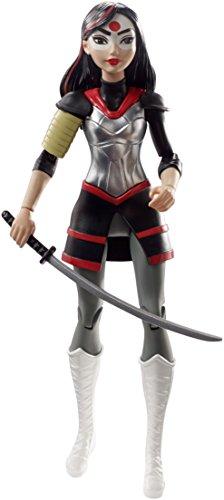 DC Super Hero Girls DVG28 - Katana - Figurine Articulée - 15 cm 0887961368666