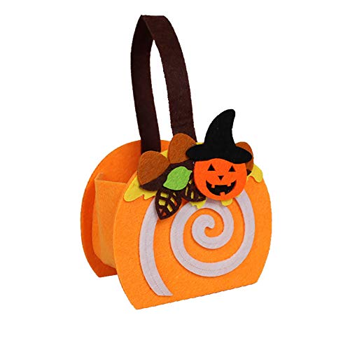 Netter Candy Bag Halloween Trick or Treat Taschen Kürbis-Form Traditionelle Candy Bag Ideal für Kinder ()