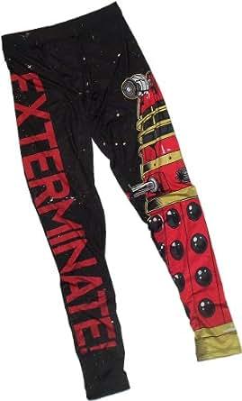 "Dalek ""Exterminate!"" -- Doctor Who Ladies All-Over-Print Leggings, X-Large"