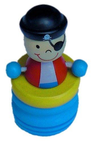 Bieco 23-022108blx- Milchzahndose Pirat, blau