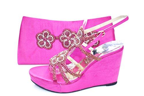 Wear & Walk UK , Damen Sandalen F Pink