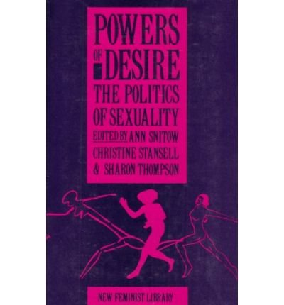 [(Powers of Desire: Politics of Sexuality)] [Author: E. Ross] published on (October, 1983)