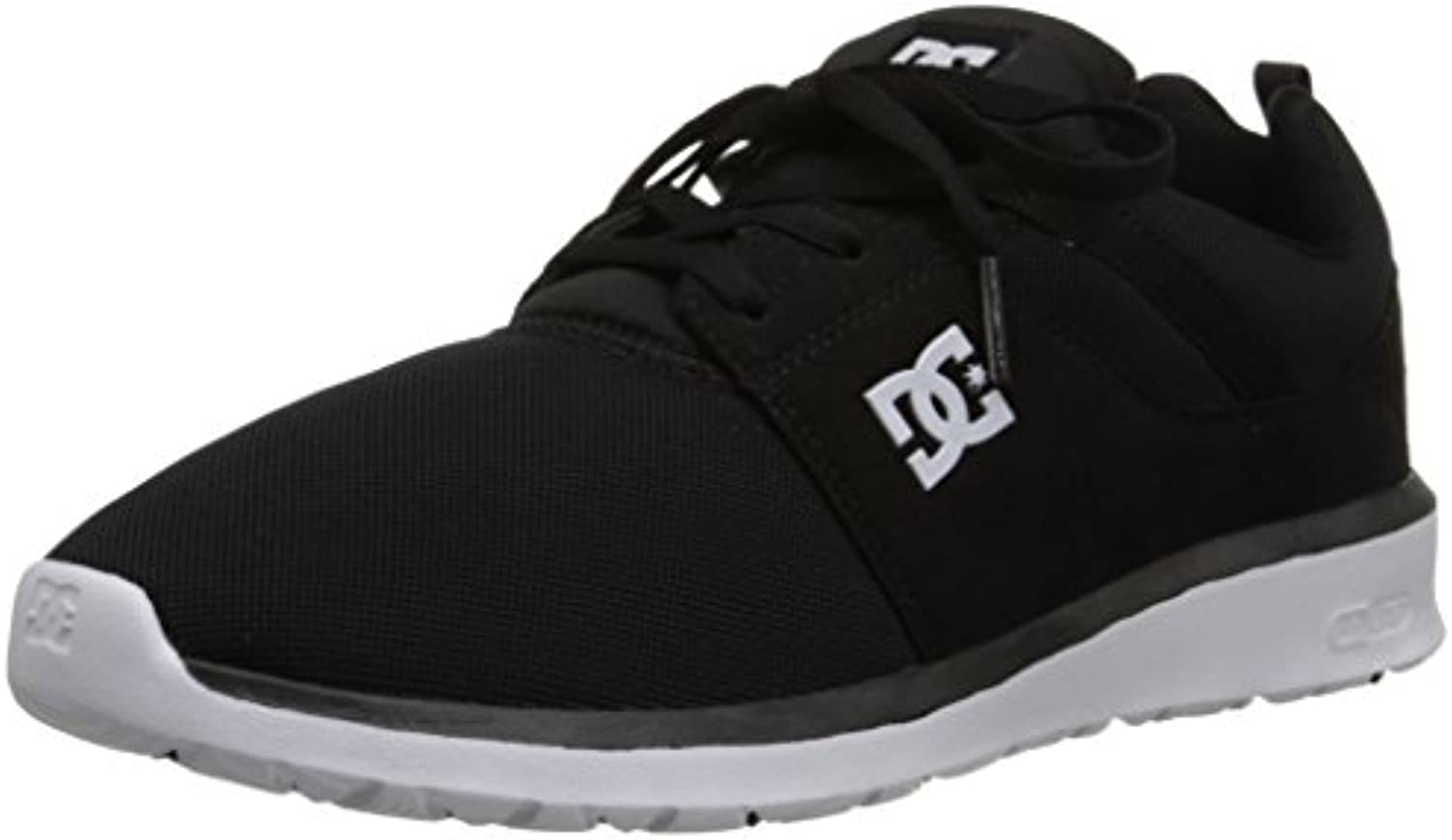 DC     Herren Heathrow Schuh  Black/White  48.5 EU