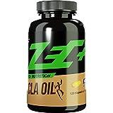 ZEC+ CLA MUSKELAUFBAU und FATBURNER | Konjungierte Linolsäure | Helal/Halal | perfekt für strenge DIÄTEN | hochentwickelt | 120 Kapseln