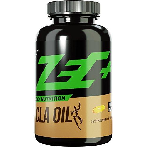 *ZEC+ CLA MUSKELAUFBAU und FATBURNER | Konjungierte Linolsäure | Helal/Halal | perfekt für strenge DIÄTEN | hochentwickelt | 120 Kapseln*