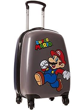 FABTASTICS Super Mario Trolley, Cinturón Niños, Multicolor (Mehrfarbig), Talla única