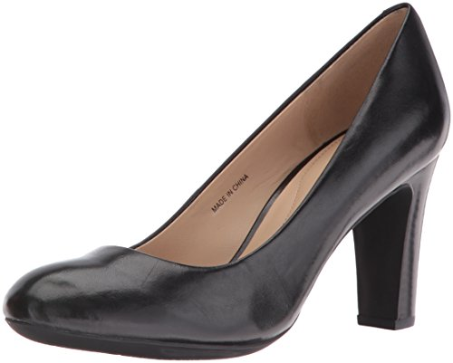 Geox D NEW MARIECLAIRE HI, Decolleté chiuse donna, Nero (Blackc9999), 35.5
