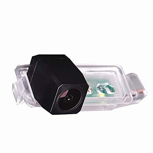 Telecamera per retromarcia a colori integrata nell'illuminazione della targa, per VW New Magotan 2014+, Polo 2015+, Golf 7 2013+, Golf SV 2015+, Tiguan 2016+, Passat 2015+. Per MIB.