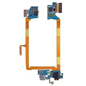 USB Charging Anschluss Port Flex Kabel + Earphone Audio Jack Flex-Kabel + Mikrofon Flex Kabel für LG G2/VS980