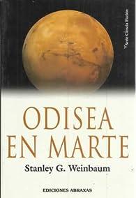 Odisea en marte par  Stanley G. Weinbaum