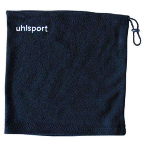 uhlsport Men's Tube Fleece Scarf, Black, One Size