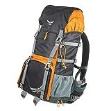 KOMPAR der Foto Trekking Rucksack von Firmcam - Modularer Aufbau mit großem Kamera Inlett und viel Platz im Backpack - perfekte Passform durch das ergonomische Tragesystem