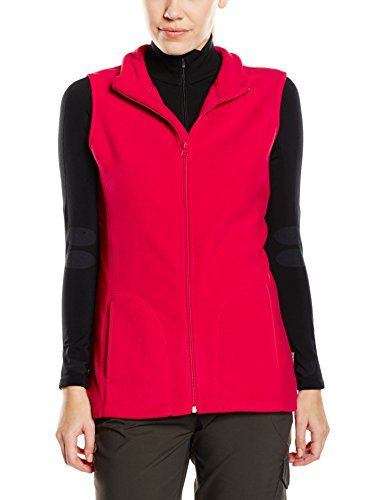 Stedman Apparel Damen Active Fleece Vest/ST5110 Sweatshirt, Rot - Scarlet Red, 42 (Herstellergröße: XL) - Active Fleece